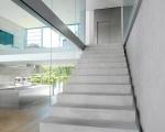 Лестница бетон маршевая