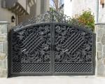 Чугунный забор