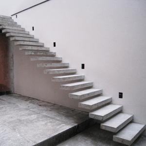 Бетонные консольные лестницы