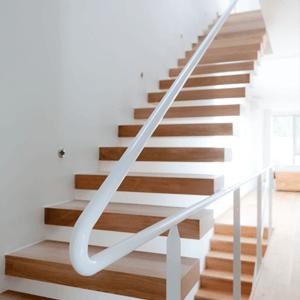 Деревянные консольные лестницы